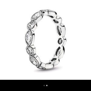 Pandora Alluring Brilliant Marquise Stackable Ring